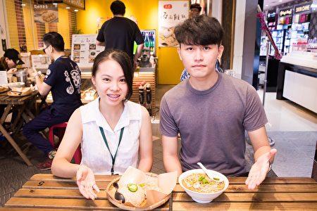 馬來西亞來台的學生特別愛吃道地的家鄉味。