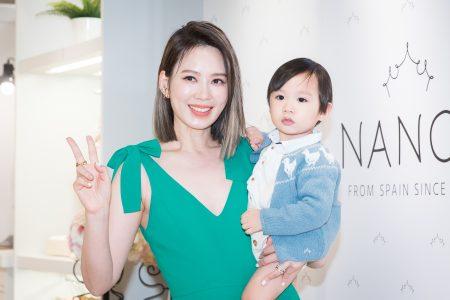 来自西班牙的皇室御用童装品牌NANOS,9月在台北设立亚洲首家专卖店,时尚妈咪殷悦(Melody)出席活动,分享挑选秋冬最新行头。