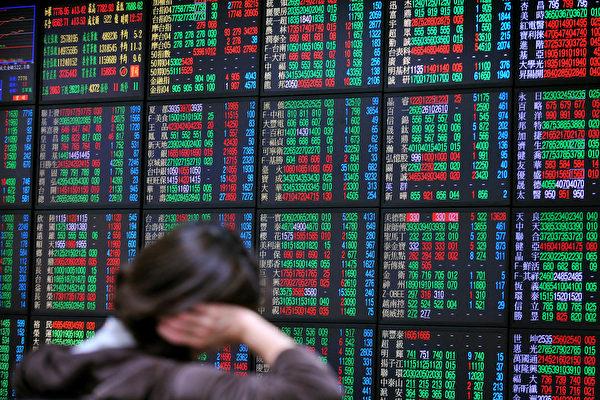 圖為中國股市示意照。(AFP)