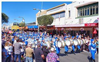 新西兰Hastings丰收节游行 天国乐团受欢迎