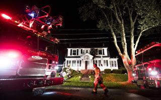 波士顿北郊瓦斯爆炸 数十房屋遭连环火灾