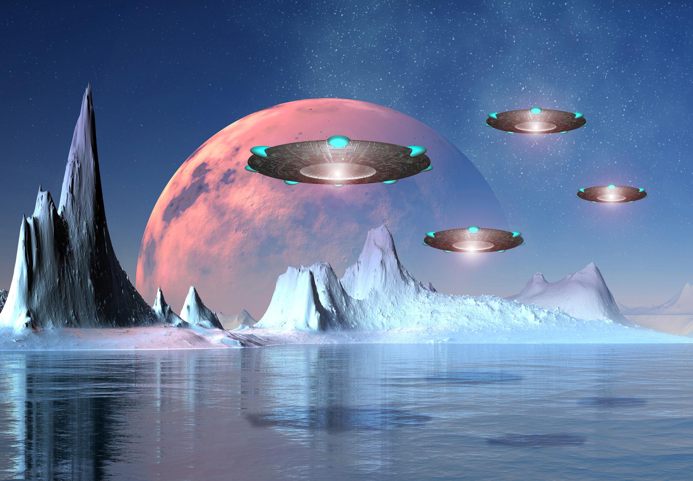 NASA科學家相信外星人曾到訪過地球