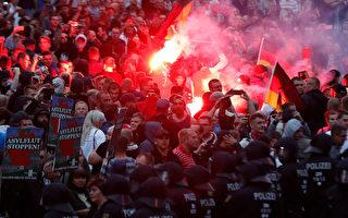 德国开姆尼茨示威行纳粹礼 法院速判