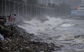台风山竹在菲律宾酿25死 直扑香港和华南
