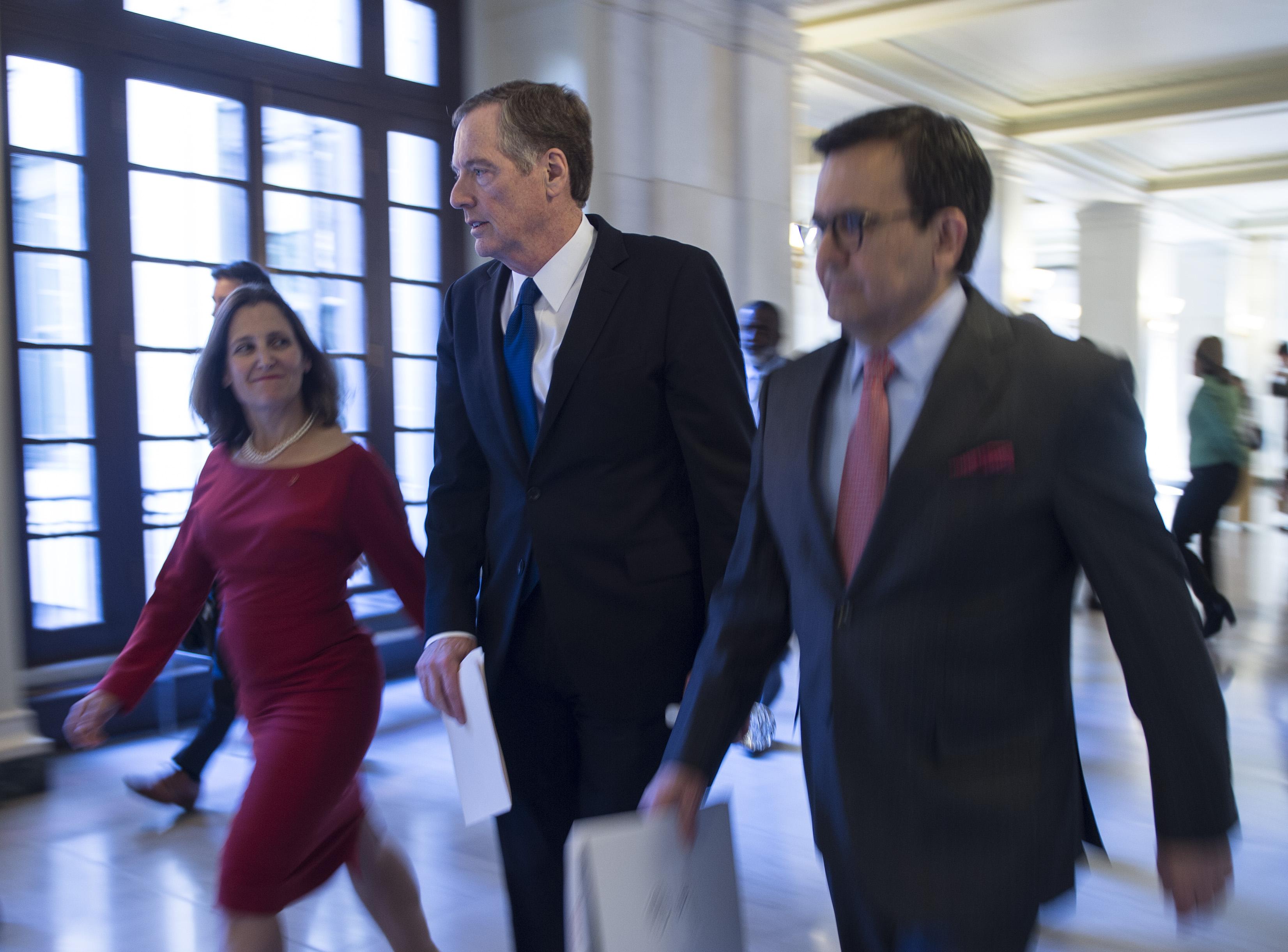 NAFTA談判截止期限前 美加終達協議
