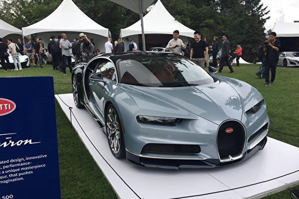图:温哥华豪车展参展的豪车超跑。(大纪元图片)