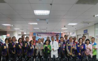 同济会捐赠医疗设备 新竹国军医院病患受惠