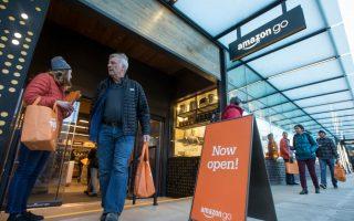 亞馬遜無人超市 紐約市開店