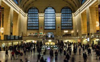 回归20年前物价 大中央车站穿越时光