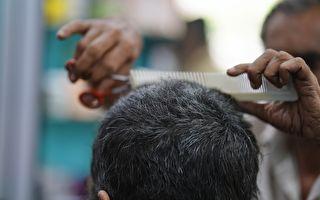 另類剪髮體驗 冒煙剪刀加熱鐵夾伺候