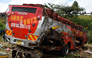 肯尼亞發生巴士翻車事故 至少50人死亡