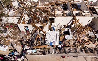 """""""如同炸弹爆炸"""" 迈克尔风暴袭美致死逾10人"""