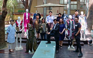 旧衣变时尚 秀循环经济艺术美