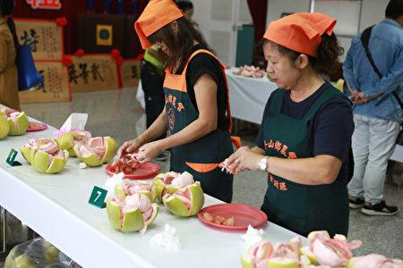 107年宜兰县红文旦品质评鉴竞赛准备中。