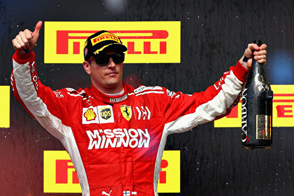 F1美國站:萊科寧時隔五年半再奪分站冠軍