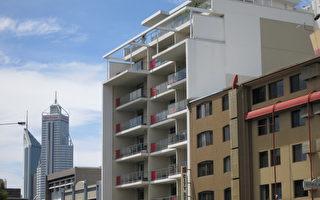 珀斯内城公寓价格 四年跌10%