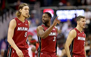 NBA奧利尼克關鍵灌籃 熱火一分險勝奇才