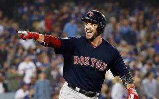 MLB世界大赛红袜4轰退道奇 夺世界冠军