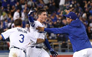 MLB季後賽貝林格再見安 道奇延長勝釀酒人