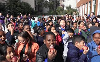 推广健康饮食 亨特携手小学生从玩中学