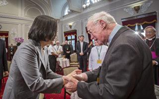 感谢外籍神职人员  蔡英文:让台湾照顾大家