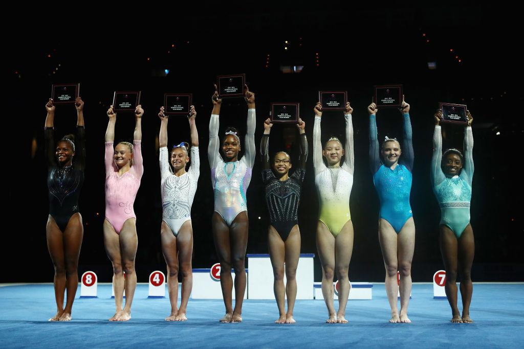體操世錦賽美國女團奪冠 二成員是中國孤兒