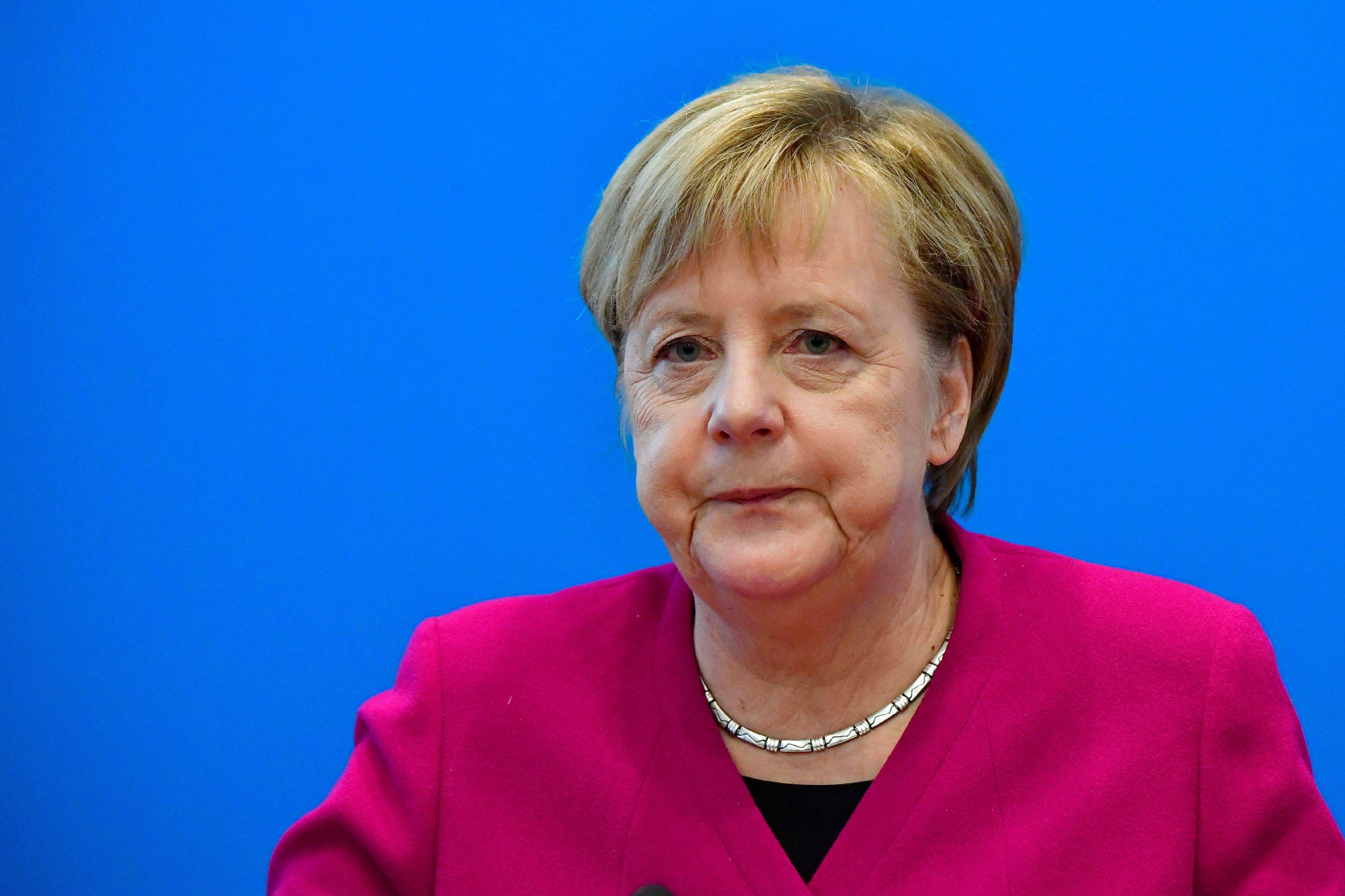 德國總理默克爾敦促德企擴展中國以外市場