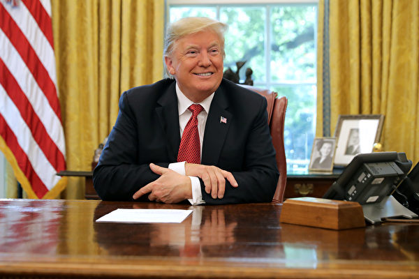 川普总统。