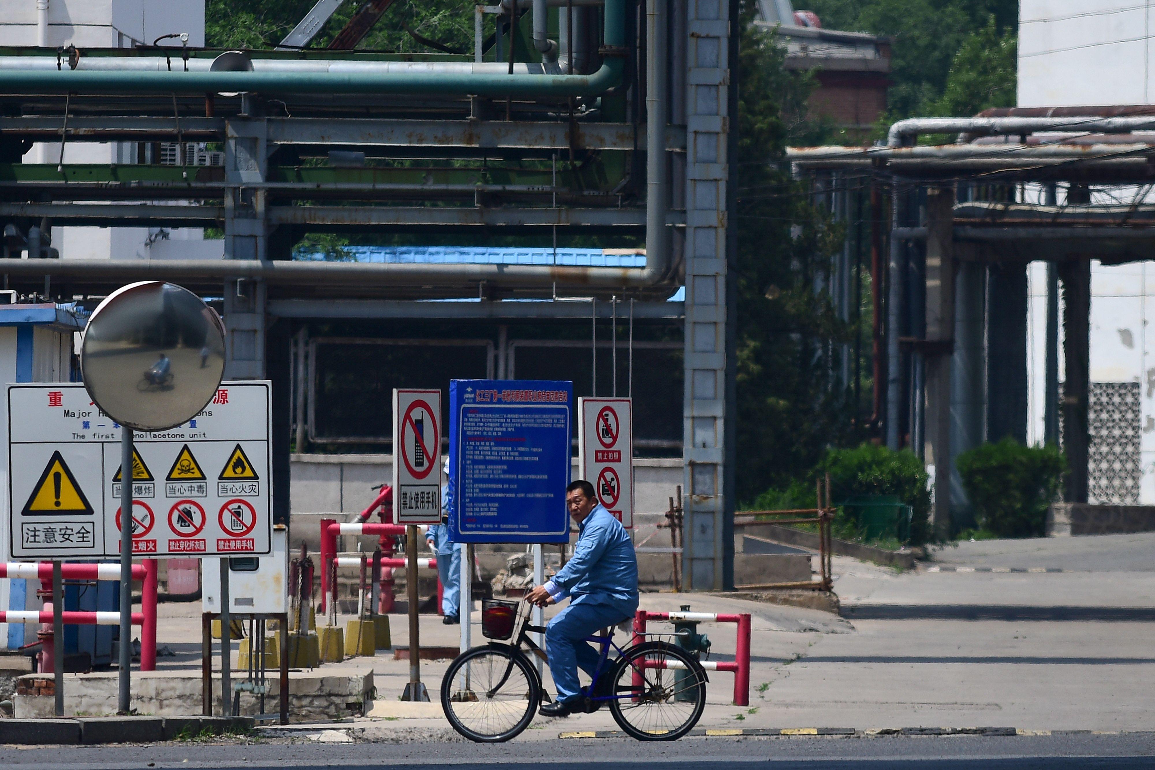 擔心被美制裁 中國兩石油集團停購伊朗油