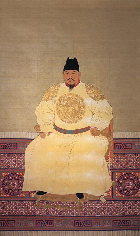 明太祖朱元璋像。(公有领域)