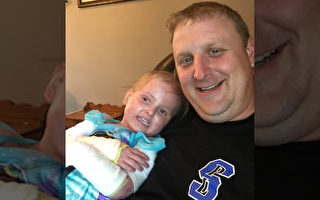 爸爸抱女儿被骂太宠小孩 故事真相却催泪感人