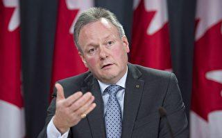 加拿大再次上调利率。图为加拿大央行行长波洛兹(Stephen Poloz)。(加通社)