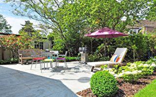 好花園可大幅提升房屋價值