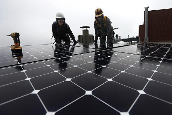 加州安装太阳能减税率明年开始降低