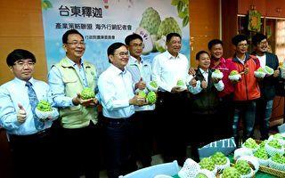 開拓海外更大市場 台東釋迦產業組策略聯盟