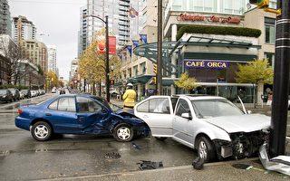 由於天氣等因素,11月是大溫車禍高發期。(大紀元)