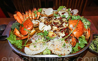 巨型海鮮辣鍋