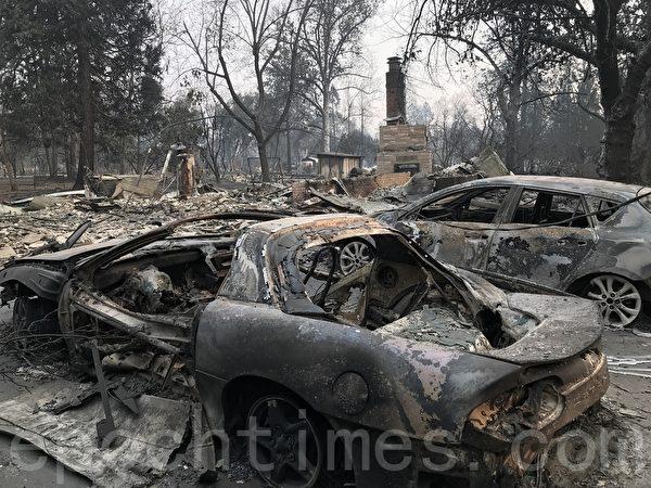 川普視察北加災區 承諾切實解決森林安全