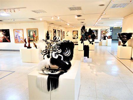 2018更生美展在台中大墩艺廊展出。