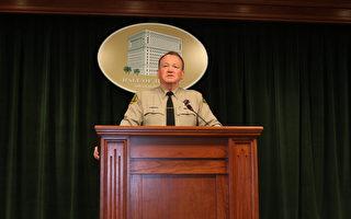 洛县警长落选 将继续执法生涯