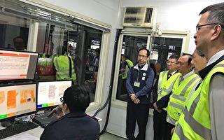 中国非洲猪瘟疫情扩散  林聪贤视察快递查检作业