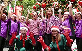 组图:悉尼市政府开启2018欢乐圣诞季