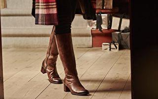 方跟长靴回归  隐形鞋跟打造美腿利器