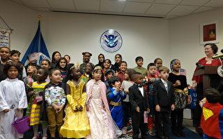 慶萬聖節 美移民局舉辦兒童入籍儀式