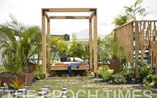 奧克蘭舉辦國際園藝展 設計師各顯其能
