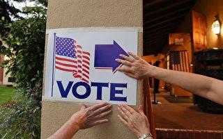 组图:美中期选举 各地选民踊跃投票