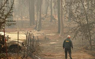 加州山火污染空气 多个城市开始发放面罩