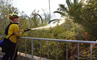 马里布富人雇私人灭火 消防局不满