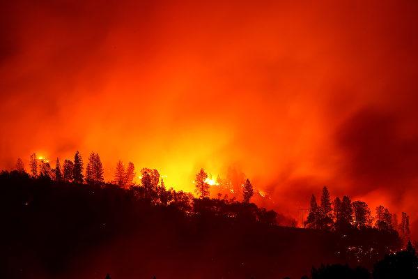 加州大火持續蔓延 至少31死 逾200人失蹤