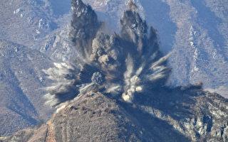 韩国发视频:朝鲜炸毁非军事区的10个哨所
